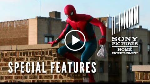SPIDER-MAN: HOMECOMING –  features  – Now on Blu-ray!
