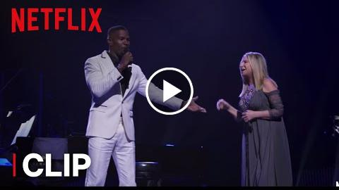 "Barbra: The Music… The Mem'ries… The Magic!  Clip: ""Please Welcome Jamie Foxx""  Netflix"
