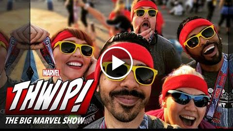 Run for your life on THWIP! The Big Marvel Show!