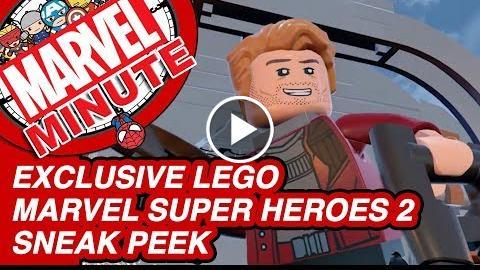 Exclusive LEGO Marvel Super Heroes 2 Sneak Peek – Marvel Minute 2017
