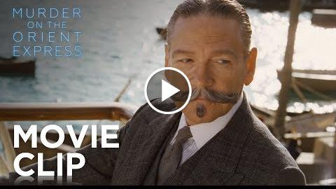 "Murder on the Orient Express  ""I Know Your Moustache"" Clip  20th Century FOX"