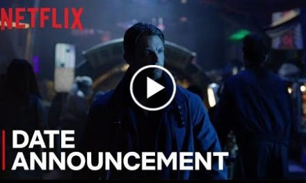 Altered Carbon  Date Announcement [HD]  Netflix