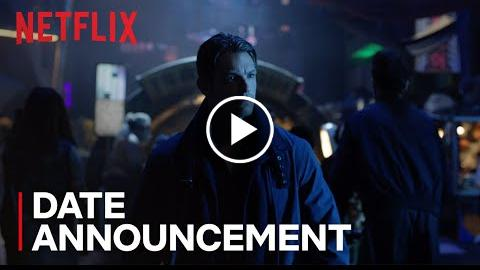 Altered Carbon  Date Announcement [HD]  Netflix