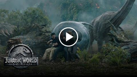 Jurassic World: Fallen Kingdom – Trailer Thursday (Run) (HD)