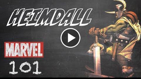 Heimdall — Marvel 101