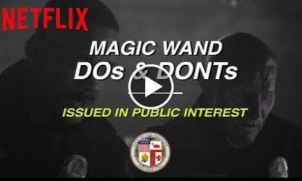 Bright  Magic Wand PSA  Netflix