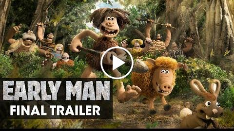 Early Man (2018 Movie) Official Final Trailer – Eddie Redmayne, Tom Hiddleston, Maisie Williams