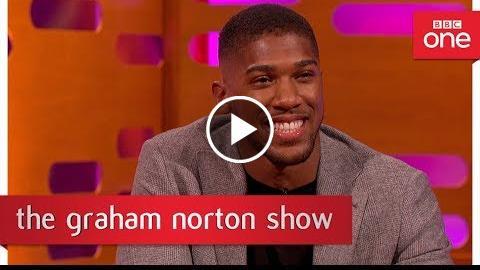 Graham Norton tries out Anthony Joshua's training routine – The Graham Norton Show – BBC One