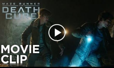"Maze Runner: The Death Cure  ""Cranks Tunnel"" Clip  20th Century FOX"