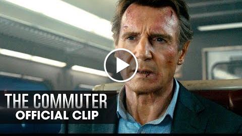 The Commuter (2018 Movie) Official Clip Hand Me The Phone  Liam Neeson