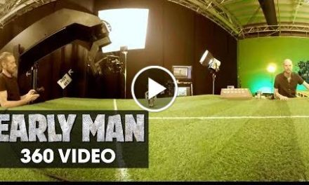 Early Man (2018 Movie) Tour The Set – 360 Video