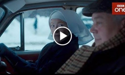 Sister Winifred's dangerous driving – Call The Midwife – BBC One