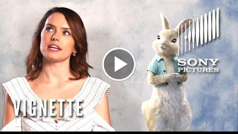 "PETER RABBIT Vignette – Daisy Ridley as ""Cotton-Tail"""