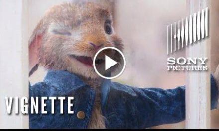 """PETER RABBIT Vignette – James Corden as """"Peter Rabbit"""""""