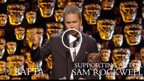 Sam Rockwell wins Supporting Actor BAFTA – The British Academy Film Awards: 2018 – BBC One