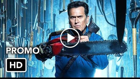 """Ash vs Evil Dead 3×02 Promo """"Booth Three"""" (HD) Season 3 Episode 2 Promo"""