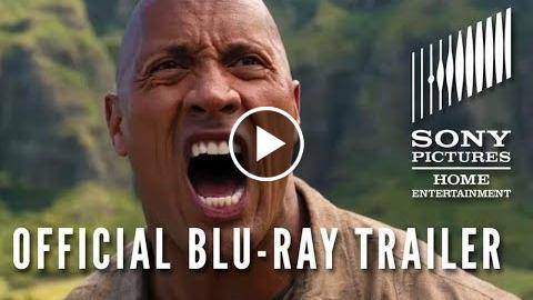 JUMANJI: WELCOME TO THE JUNGLE – Official Blu-ray and Digital Trailer HD (2017)