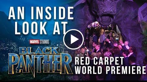 An Inside Look at Marvel Studios Black Panther Red Carpet World Premiere