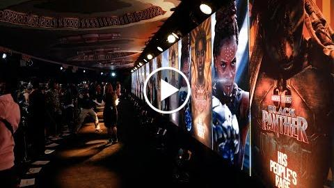 Black Panther – European Premiere highlights  HD