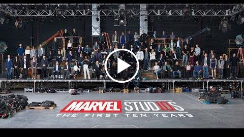 Marvel Studios 10th Anniversary Announcement  Class Photo Video