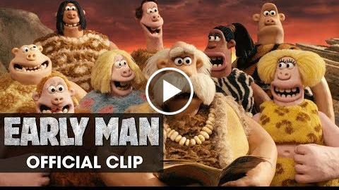 Early Man (2018 Movie) Official Clip Group – Eddie Redmayne, Tom Hiddleston, Maisie Williams