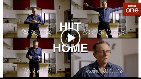 HIIT at home – The Truth About Getting Fit – BBC One