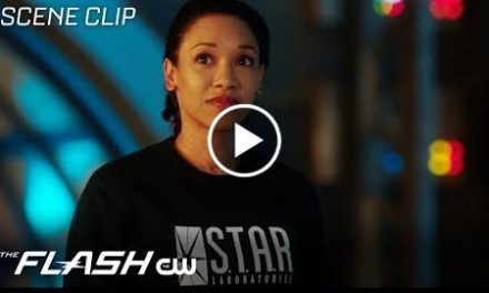 The Flash  Run Iris, Run Scene  The CW