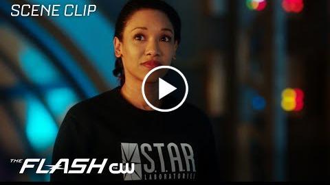 The Flash  Run Iris, Run Scene  The CW