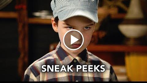 """Young Sheldon 1×15 Sneak Peeks """"Dolomite, Apple Slices, and a Mystery Woman"""" (HD)"""