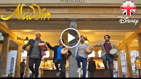 ALADDIN THE MUSICAL  Swapping Agrabah for Covent Garden, London!  Official Disney UK