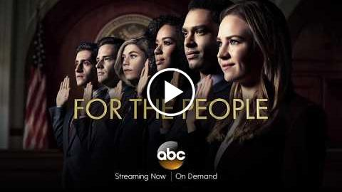 For The People on ABC – Cast Interview Featurette