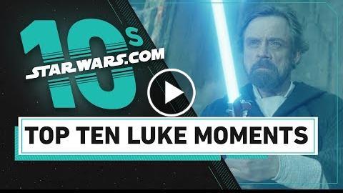 Top 10 Luke Skywalker Moments  The StarWars.com 10