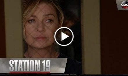 Meredith Grey Tells Andy To Put Her Game Face On  Station 19 Season 1 Episode 1