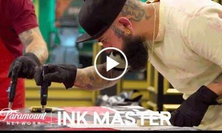 Wax On, Wax Off: Testing Composition – Flash Challenge  Ink Master: Return of the Masters