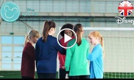 DISNEY  Inspiring Girls This FA Girls Football Week  Official Disney UK