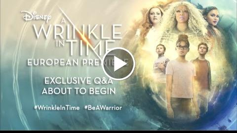 LIVE: WrinkleInTime Q+A in association with The Female Lead and Sunday Times Style