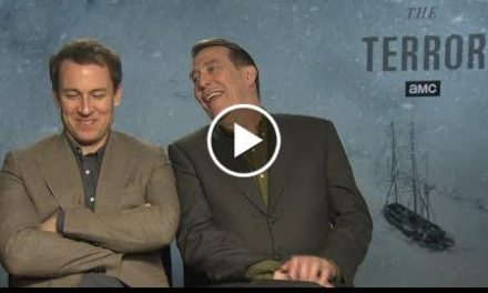 The Terror  Ciaran Hinds and Tobias Menzies Talk About AMC's New Series 'The Terror'