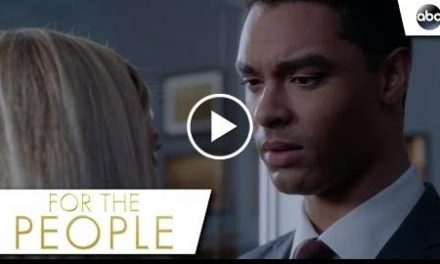 Kate And Leonard Share Some Tension – For The People