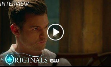 The Originals  Season 5 – Daniel Gillies Interview  The CW