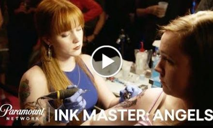 Even Angels Get the Blues: Angels Tattoo Face Off  Ink Master: Angels (Season 2)