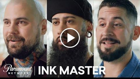 The Coaches & Finalists at the Season 10 Finale  Ink Master: Return of the Masters