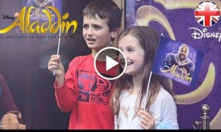 ALADDIN THE MUSICAL  Autism-Friendly Performance – London  Official Disney UK