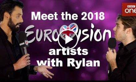 Meet the 2018 Eurovision artists with Rylan: Part Two – Eurovision 2018 – BBC One