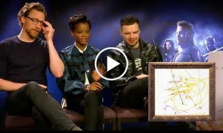 Avengers: Infinity War Cast Guess Character From Kids Drawings