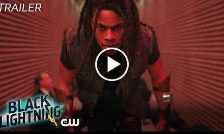 Black Lightning  Shadow of Death: The Book of War Trailer  The CW