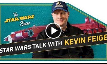 We Build a Millennium Falcon Out of SOLO Cups and Marvel Studios' Kevin Feige Talks Star Wars