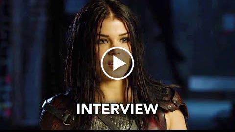 The 100 Season 5 – Marie Avgeropoulos Interview (HD)