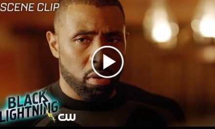 Black Lightning  Shadow of Death: The Book of War Scene  The CW