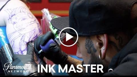 12 Hour Sleeve Tattoo – Elimination Tattoo  Ink Master: Return of the Masters (Season 10)