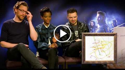 Avengers: Infinity War Cast Guess Character From Kids' Drawings